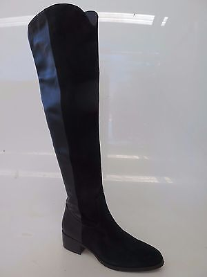 Django & Juliette - new ladies leather long boot size 37 #185 * CLEARANCE *