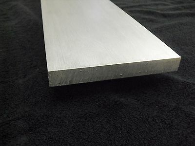 "1/4"" Aluminum 5"" x 24"" Flat Bar Sheet Plate 6061 Mill Finish"