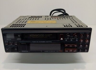 Vintage Kenwood KRC-X900 Cassette Deck Radio  Stereo Twin CD Changer Controller