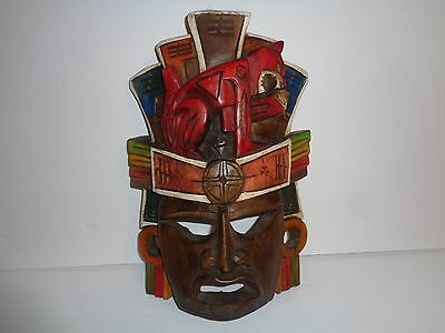 Wooden Mask ~ Colorful Wall Art