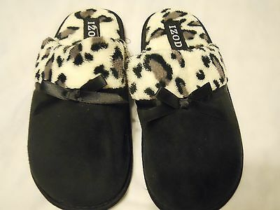 Izod Slippers Shoes Size S Black