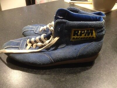 Motor Racing Shoes RPM Size 7
