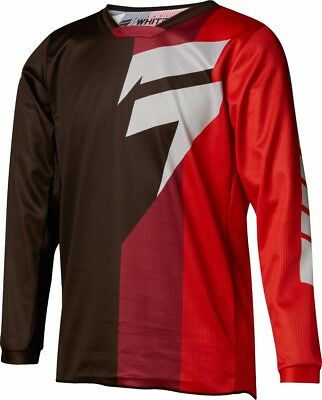 2018 Shift MX Youth Whit3 Label Tarmac Jersey Black/Red