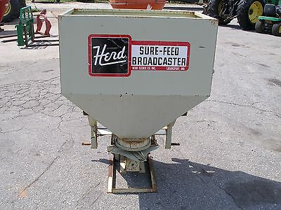 Nice Herd Sure-Feed 3-Pt-750   3 Point Hitch Spreader