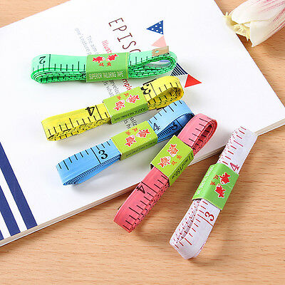3/10 Body Waist Measuring Ruler Sewing Cloth Tailor Tape Flat Tool Meter Gadget