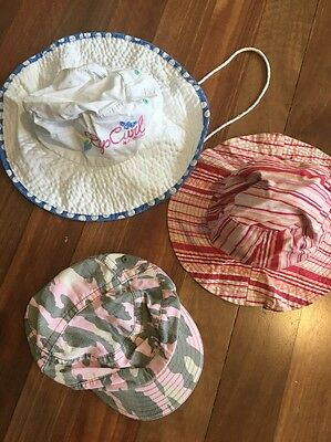 Three Girls Hats - Ripcurl, Patch Reversible and Pumpkin Patch