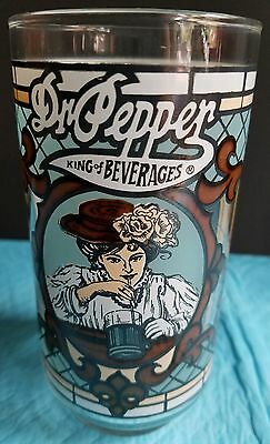 Dr pepper king of beverages collectors glass