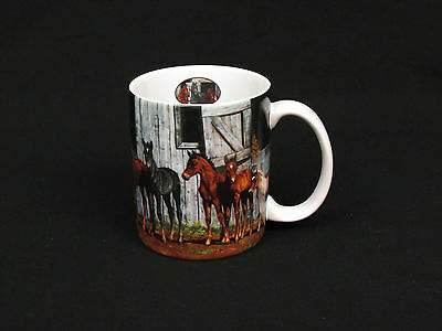 2001 Little Partners Horse Mug EUC