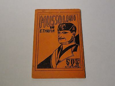 Vintage Tijuana Bible - Mussolini In Ethiopia - 8 Pages - Risque Comic