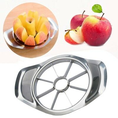 NEW Stainless Steel Fruit Apple Pear Easy Cut Slicer Cutter Corer Divider Peeler