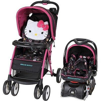Baby Jogger Travel System Infant Toddler Stroller Carrier Car Seat Trend Combo
