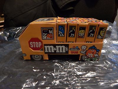 Vintage M&M's Candy  Mini Bus