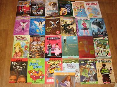 HUGE Lot of 100 KIDS Chapter Books Most Scholastic school summer reading