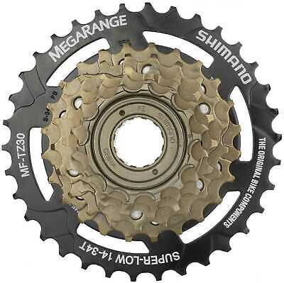 Shimano MF-TZ30 Tourney Bicycle Mega-range Multi Freewheel 6 Speed 14-34T