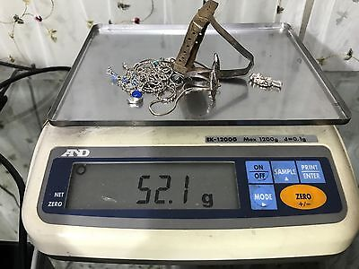 Sterling Silver .925 Usable Fixable or Scrap 52.1 grams #31