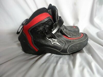 ALPINESTARS SHOE SMX1 RIDING  Vented Street Riding Motorcycle Boots US SIZE 8