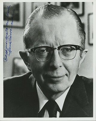 Nixon's Economic Advisor PAUL W. McCRACKEN Signed Photo & Letter