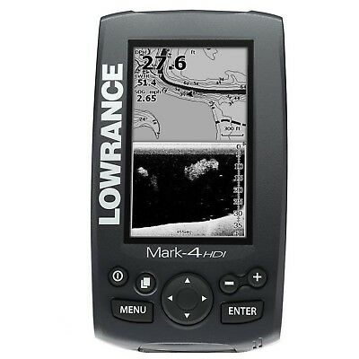 Lowrance Mark 4 HDI Chartplotter / Fishfinder - Replacement Head Unit Only