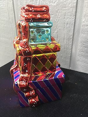 Collectible Christopher Radko Candy Box TOWERS OF TREASURES EUC