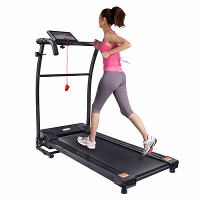Home Gym Fitness Motorised Electric Treadmill Folding Running Machine 340MM