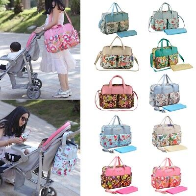 Multifunction Mommy Diaper Nappy Changing Liners Bags Mummy Baby Travel Bag AU