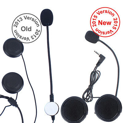 Wired Headset Mic/Speaker+Clip for V6 Motorcycle Bluetooth Helmet Intercom sale