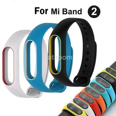 Fashion Fitness Band Wristband Bracelet Strap For Xiaomi Mi Band 2 Replacement