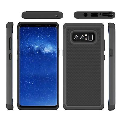 For Samsung Galaxy Note 8 Shockproof Hybrid Rugged Rubber Matte Armor Case Cover