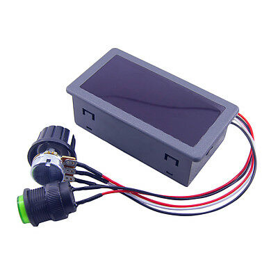 DC6-30V 12V 24V Max 8A Motor PWM Speed Controller With Digital Display Switch JK