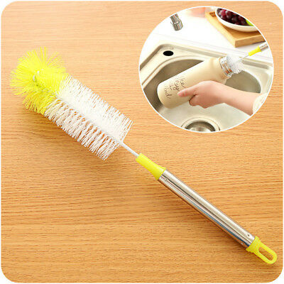1Pcs Bottle Brush Nylon Cleaner Cleaning Hair Cleaning Tube Cup Brushes