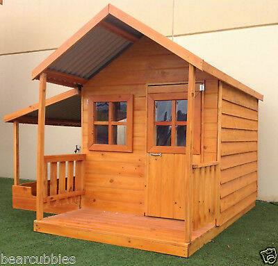 CUBBY HOUSE PACKAGE The BILBY by Bear Cubbies MADE IN MELB Solid Timber NEW