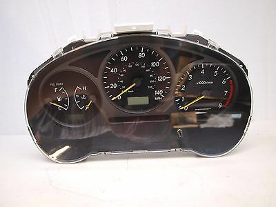 Subaru Impreza 2001-02 Non Turbo Instrument Cluster Manual Transmission