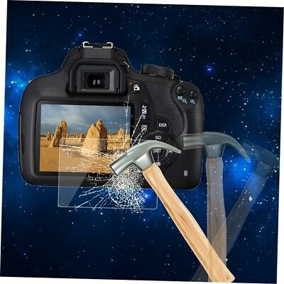 Tempered Glass Camera LCD Screen HD Protector Cover for Canon 1200D JK