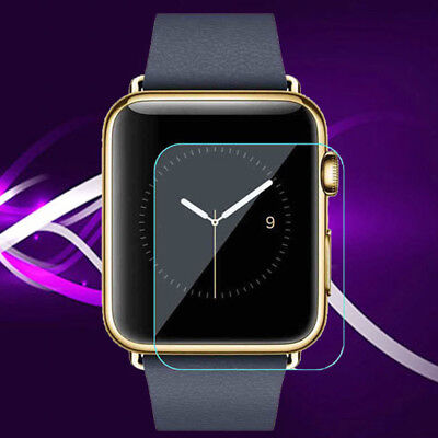 Tempered Glass Screen Protector Cover Film For Apple Watch iWatch 38mm 42mm