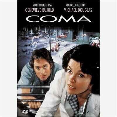 COMA (1978 Michael Douglas) DVD - New & sealed PAL Region 2
