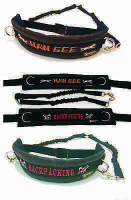 MM DOGGEAR, Personalised Dog Walking Belt With bungee lines
