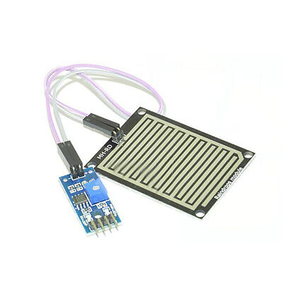Rain Sensor Water Raindrops Detection Module Surface Nickel-plated Module
