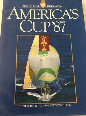 America's Cup '87 - Royal Perth Yacht Club - The Official Programme