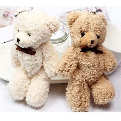 Joint Teddy Bears Stuffed Plush Mini 14CM Bear Plush Pendant Gifts Christmas Hot