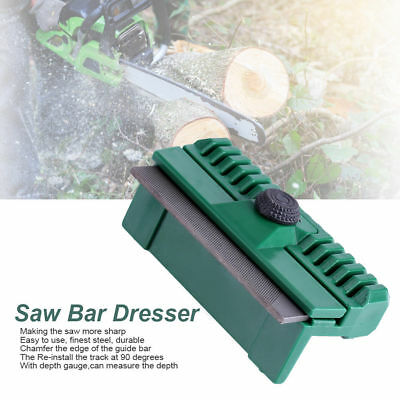 Chainsaw Chain Guide Bar Rail Dresser File Repairer Tool for Stihl Husqvarna