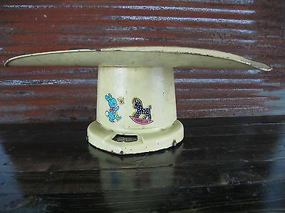 Vintage Baby Table Scale Old Farm Rustic Counselor Breary