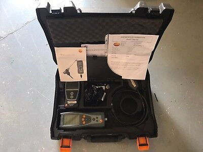 Testo 327 Flue Gas Analyzer With Printer