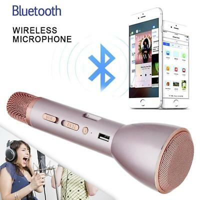 K088 Bluetooth Microphone Wireless KTV Speaker Karaoke Player Mic for Android ED