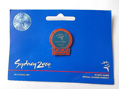 Pin Sydney 2000 olympic games 1000 days to go