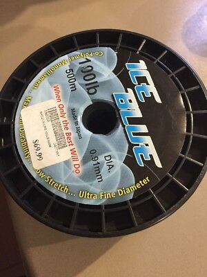 Shogun Ice Blue Fishing Line 100lb 500m