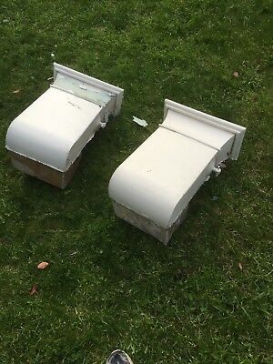 Pair Antique Victorian Heating Ducts/Air Vents Architectural Salvage Baxendale