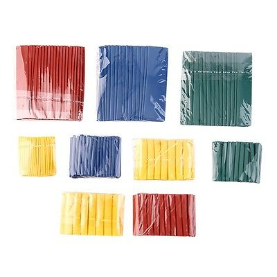 260pcs 8 Size 2:1 Heat Shrink Tubing Tube Sleeving Wrap Wire Cable GO