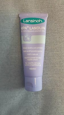 Lansinoh nipple cream- listed as used but only slightly