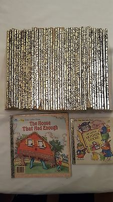 Vintage Huge Lot Of (47) Little Golden Books