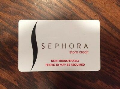 $97.64 Sephora Store Credit Card For $86.00 In Store